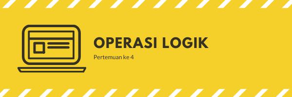Operasi Logik